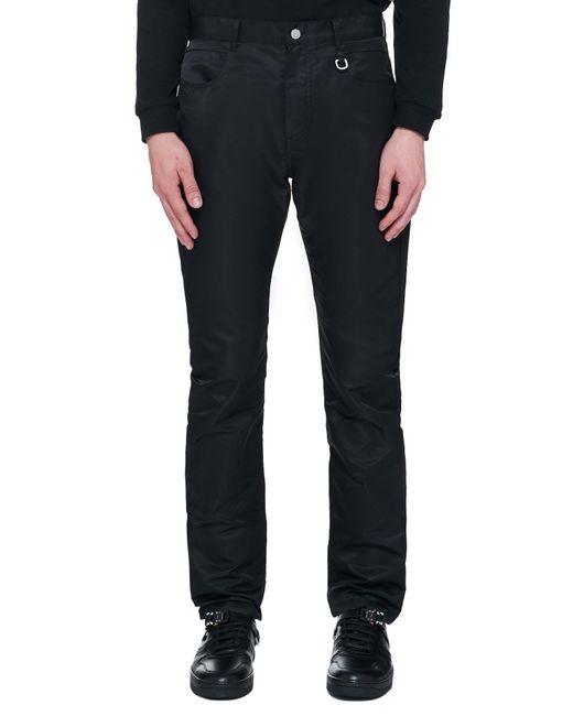 1017 ALYX 9SM Black Flat Jean Trouser for men