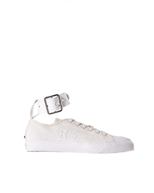 Raf Simons | Multicolor Buckled-ankle Trainer | Lyst