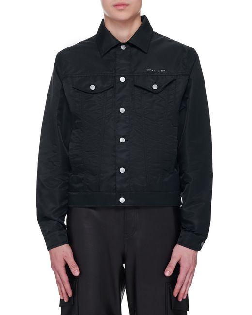 1017 ALYX 9SM Black Tactical Jacket for men