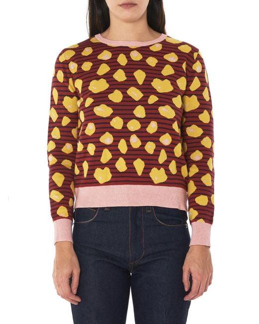 Henrik Vibskov - Multicolor Bloom Knit Sweater - Lyst