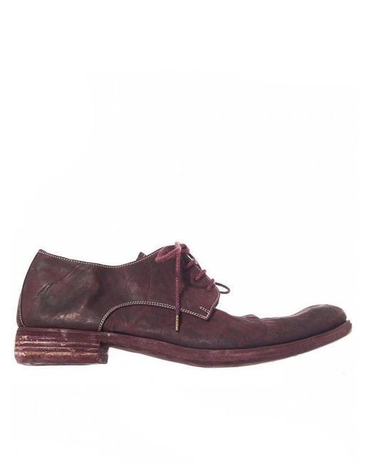 A Diciannoveventitre | Purple Weathered Derby for Men | Lyst