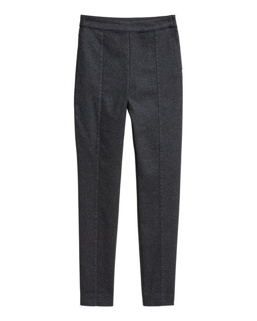 H&M Gray Stretchhose
