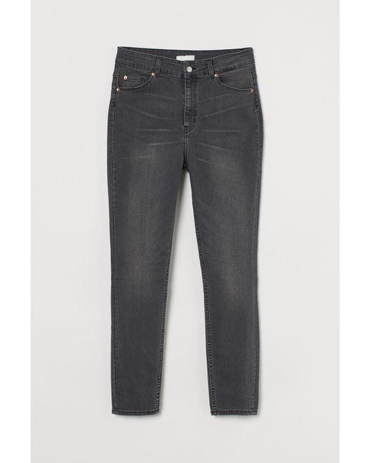 H&M Gray H & M+ Skinny High Jeans