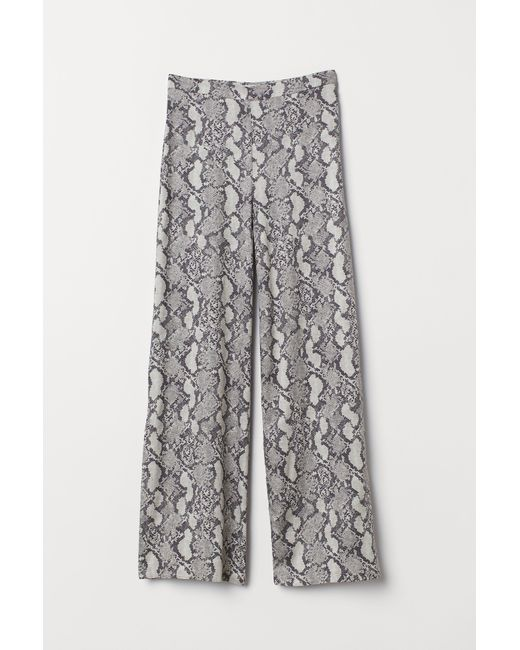 H&M Natural Pants With Slits