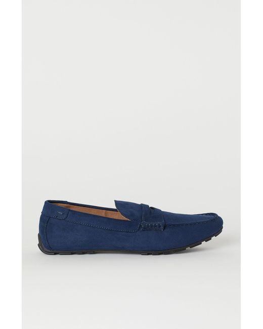 H&M Loafer in Blue für Herren