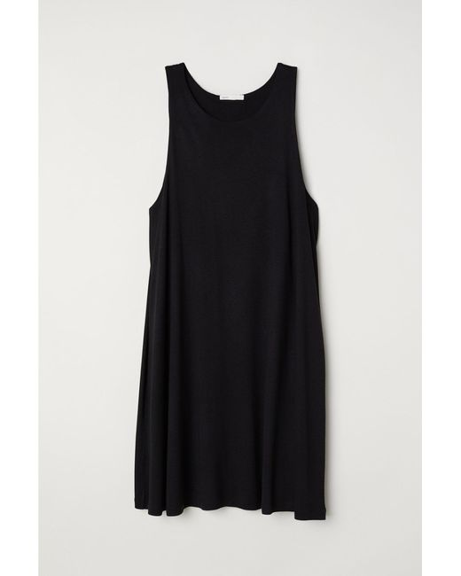 Robe trapèze H&M en coloris Black