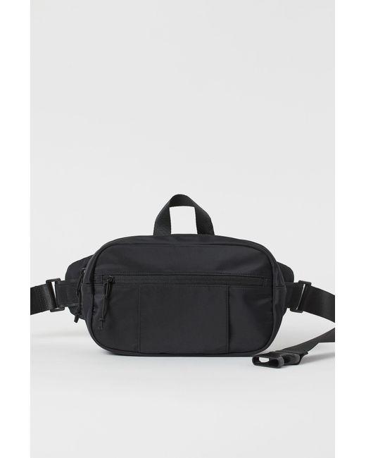 H&M Hüfttasche in Black für Herren