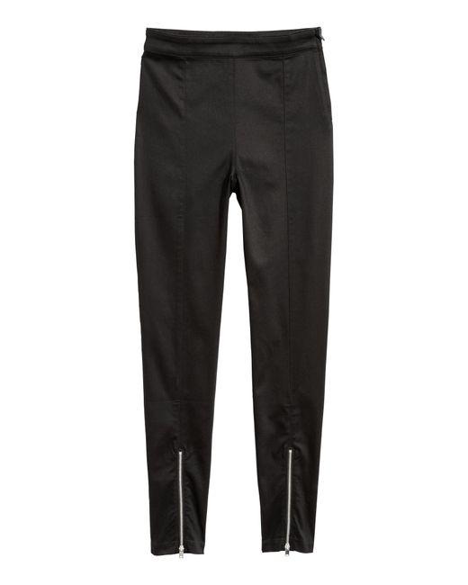 H&M Black Stretchhose
