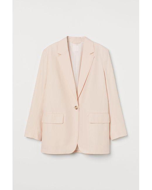 H&M Pink Oversize-Blazer