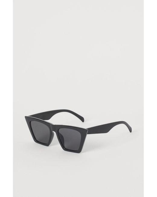 H&M Black Sonnenbrille