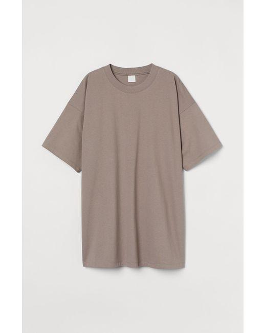 H&M Multicolor Oversized T-Shirt