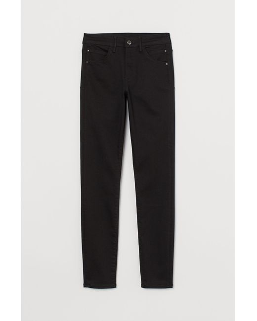 H&M Black Push-up shaping High Jeans