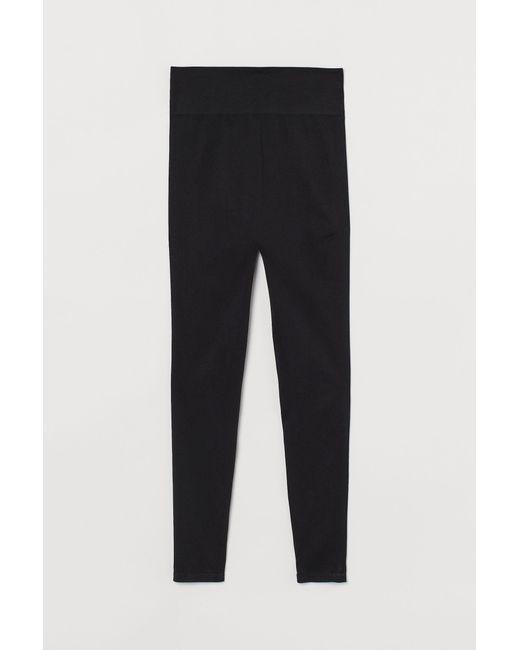 MAMA Legging sans coutures H&M en coloris Black