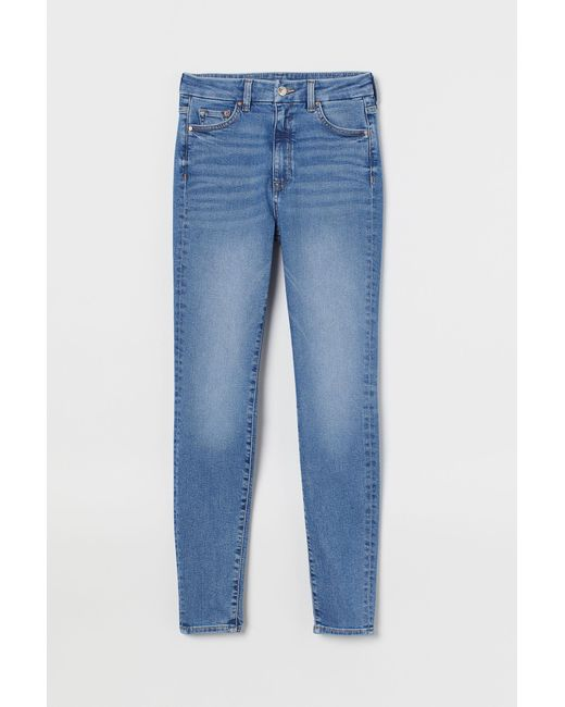 H&M Blue Embrace High Ankle Jeans
