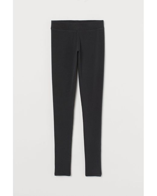 H&M Legging in het Black