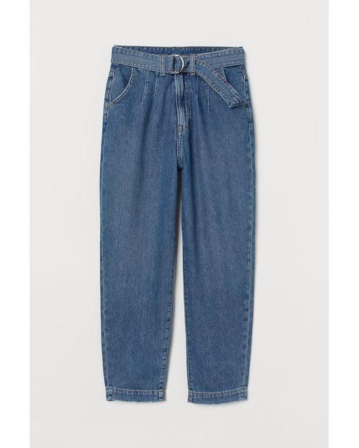 H&M Blue Mom High Jeans