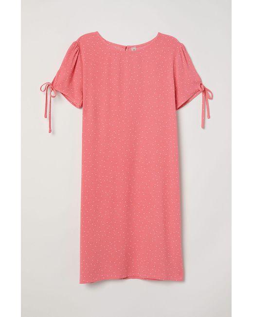 Robe courte H&M en coloris Red