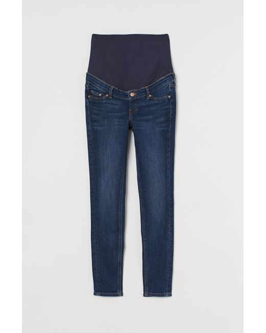 H&M Blue MAMA Skinny Jeans