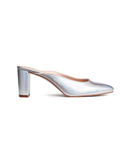 Sandales façon mules H&M en coloris White