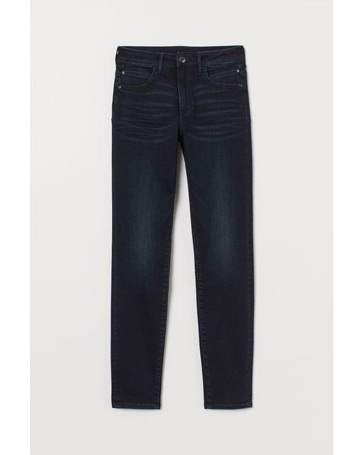 Push-up shaping High Jeans H&M en coloris Blue