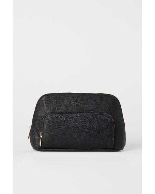 H&M Black Make-up-Tasche