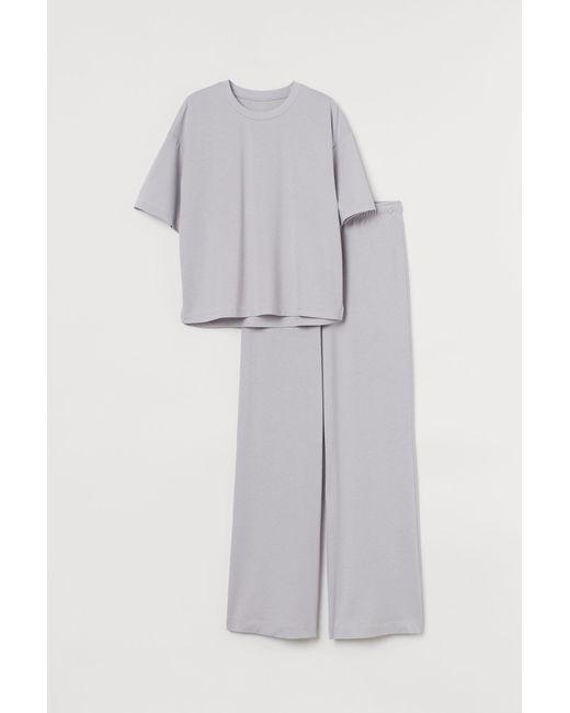 H&M Gray Pyjama