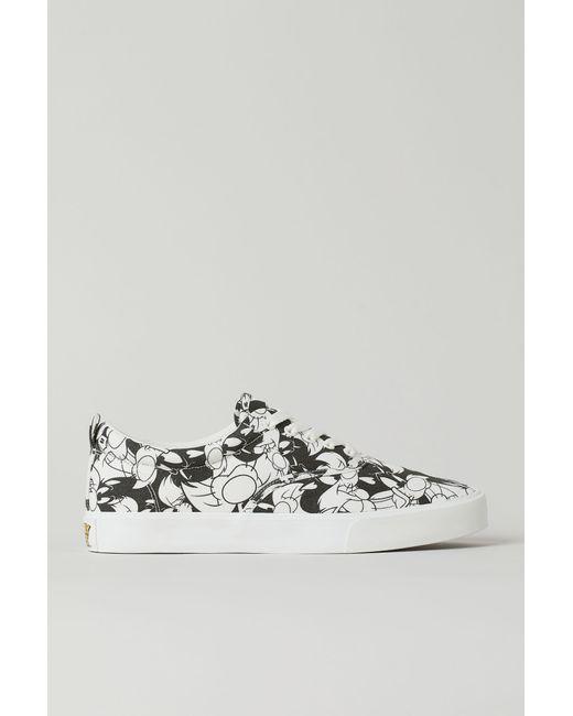 H&M Gemusterte Sneaker in Black für Herren