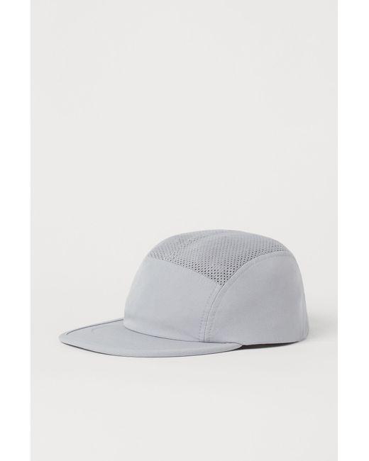 H&M Laufcap in Gray für Herren