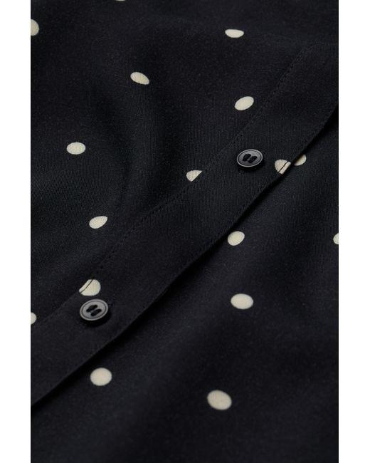 H&M Black Mama V-neck Tunic