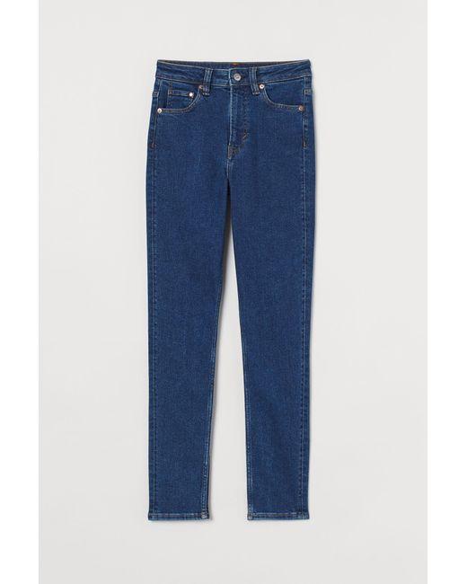 H&M Blue Vintage Skinny High Jeans