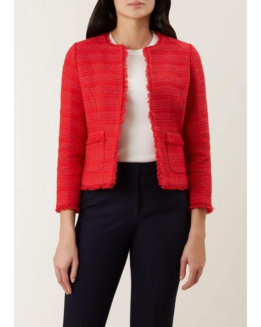 Hobbs Red 'kathleen' Jacket