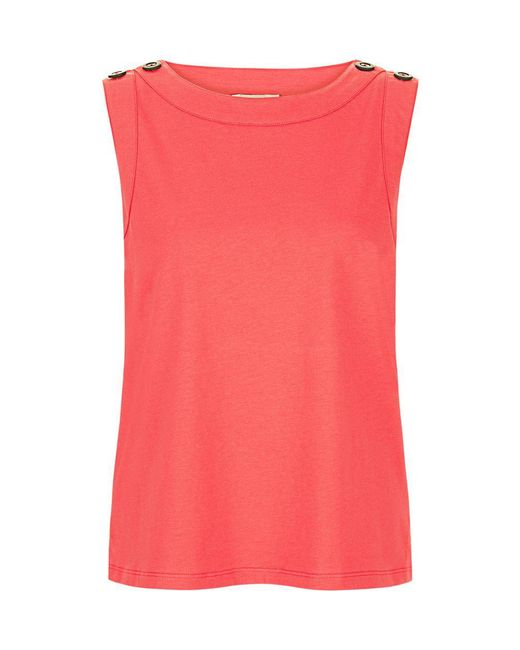 Hobbs - Pink Maddy Tank Top - Lyst
