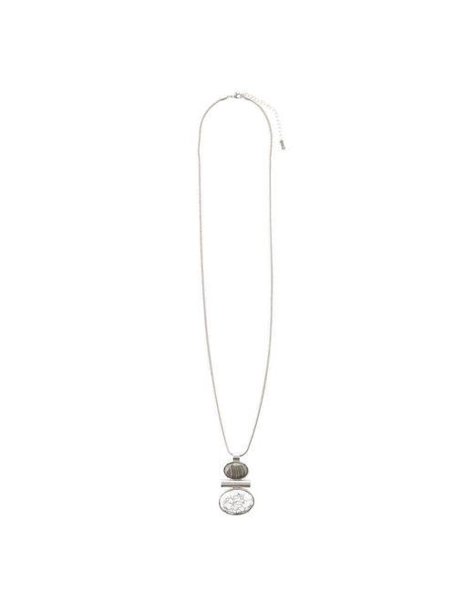 Hobbs | Metallic Cleo Stone Pendant | Lyst