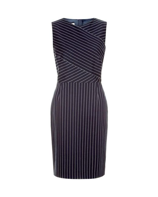 Hobbs | Blue Paige Shift Dress | Lyst