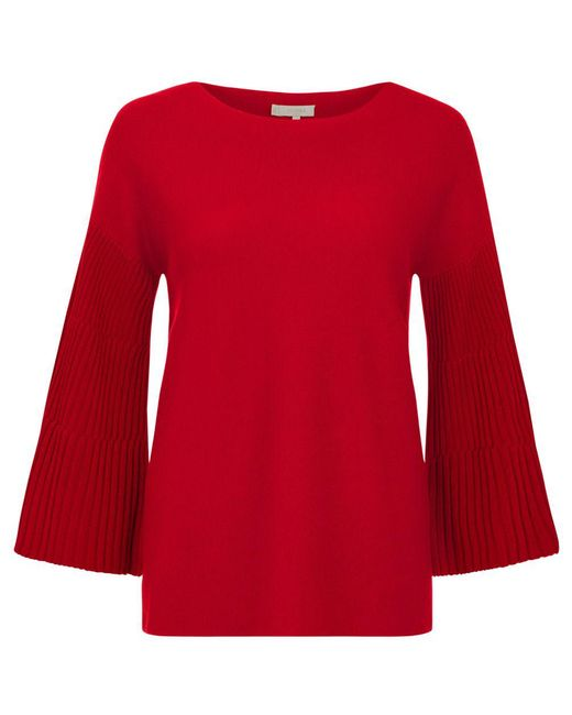 Hobbs | Red Betty Sweater | Lyst