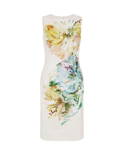 Hobbs - Natural Priscilla Dress - Lyst