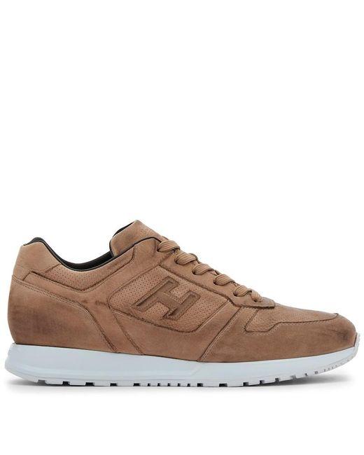 Hogan Sneakers H321 in Brown für Herren