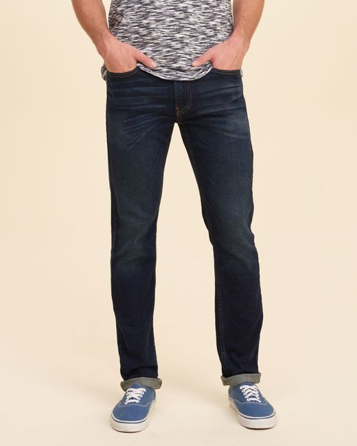 hollister dark jeans for men - photo #44