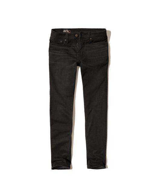 Hollister | Black Skinny Jeans for Men | Lyst