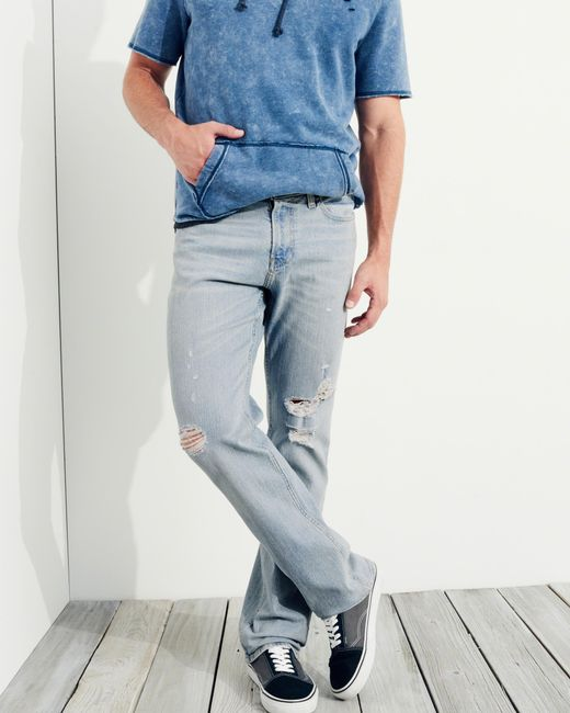 Hollister Boot Jeans in Blue for Men - Save 60% | Lyst