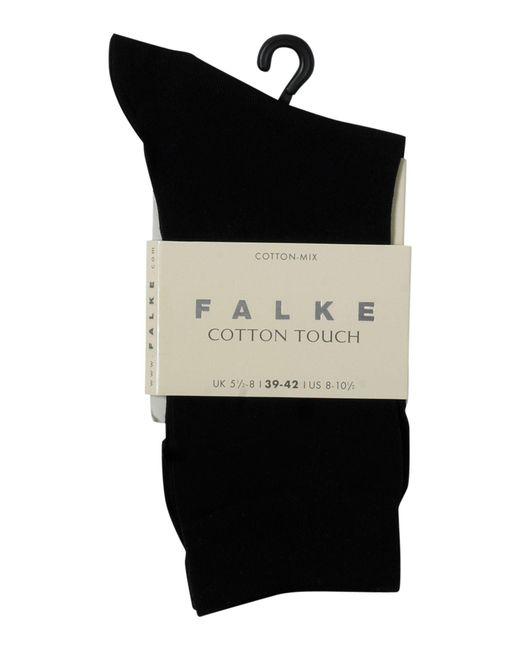 Falke   Black Cotton Touch Ankle Socks   Lyst