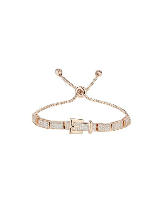 Mikey | Metallic Cubic Belt Embed Tie Up Bracelet | Lyst
