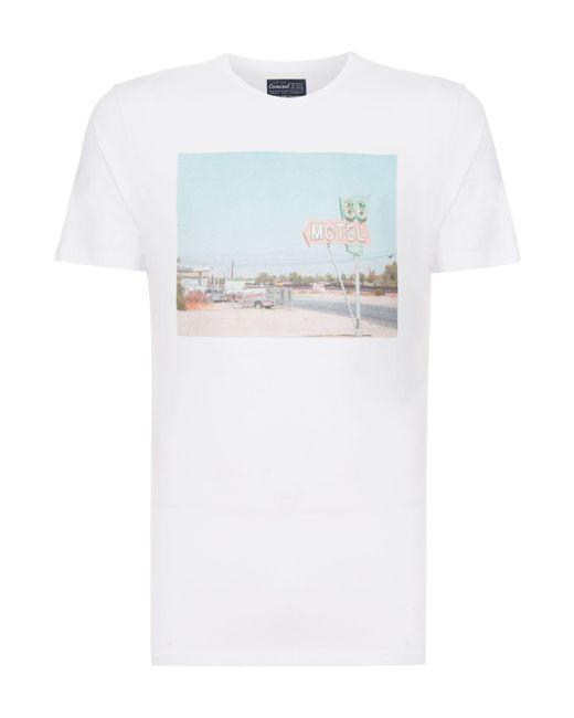 Criminal - White Men's Motel Graphic T-shirt for Men - Lyst