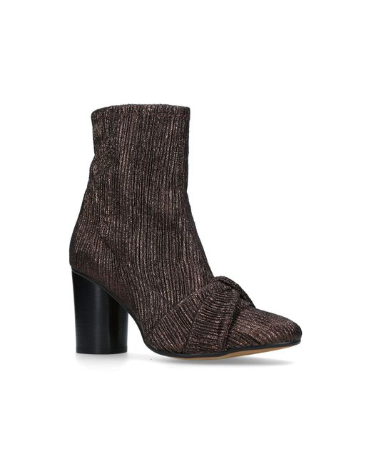 H by Hudson - Brown Camille Ankle Boots - Lyst