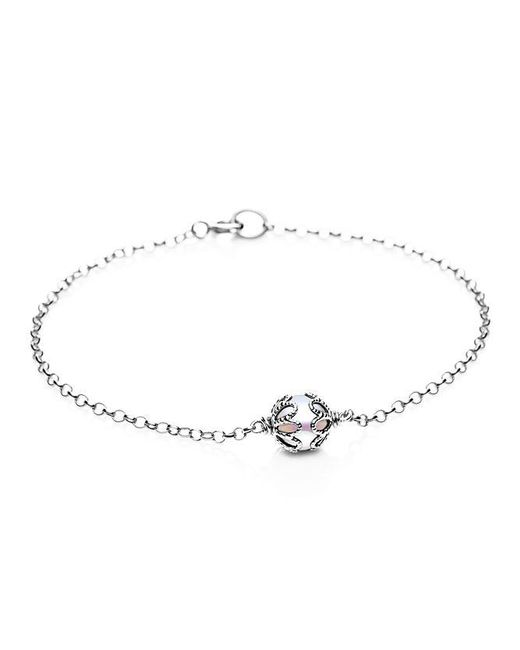 Jersey Pearl | Metallic Emma Kate White Pearl Filigree Bracelet | Lyst