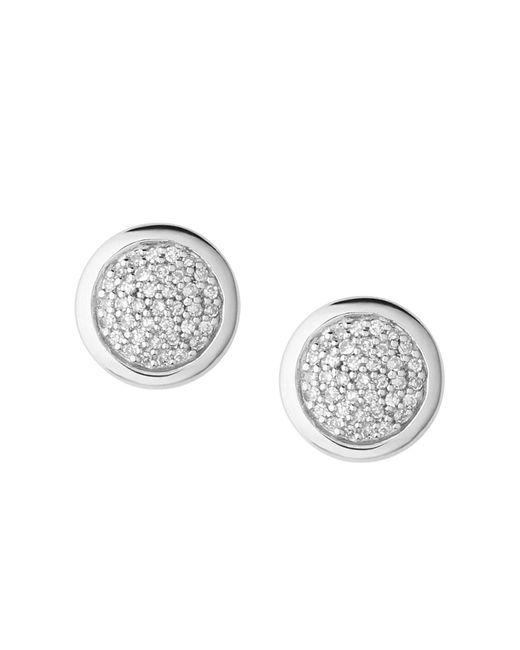 Links of London | Metallic Diamond Essentials Stud Earrings | Lyst