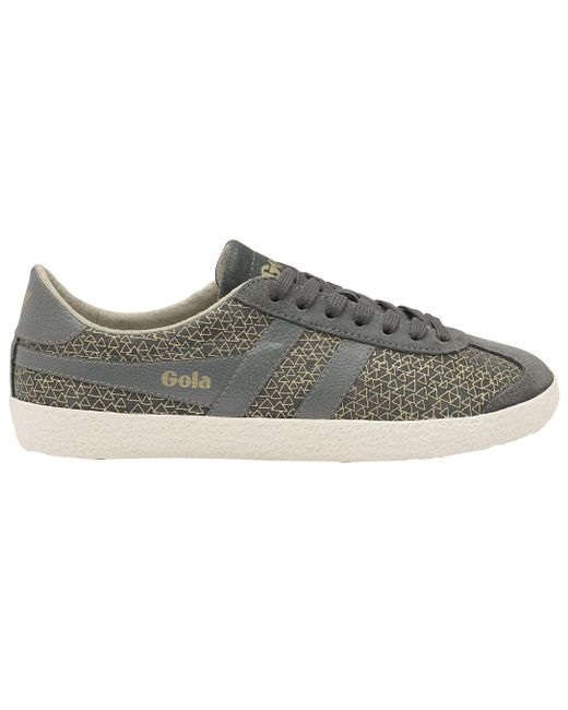 Gola   Gray Specialist Geo Lace Up Trainers   Lyst
