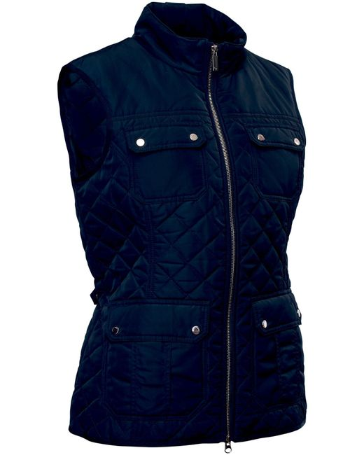 Abacus | Blue Holmen Quilted Gilet | Lyst