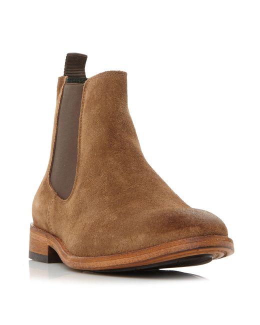 Barbour - Brown Bedlington Smart Chelsea Boots - Lyst