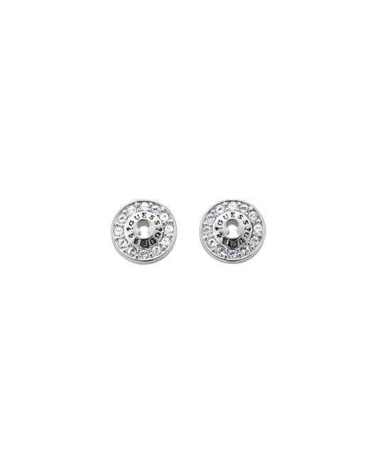 Guess | Metallic All Locked Up Padlock Earrings | Lyst
